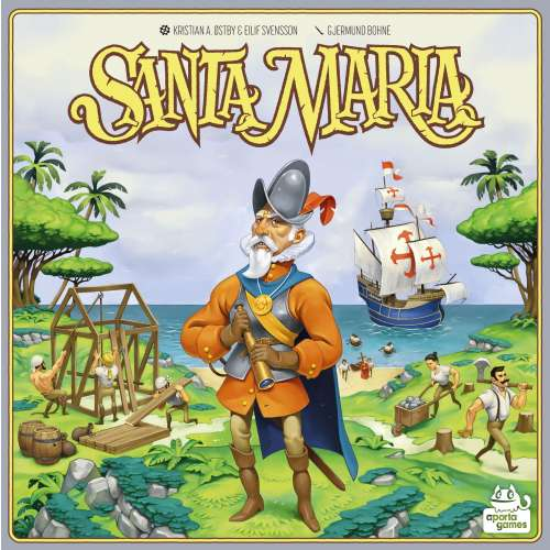 Santa Maria - настолна игра