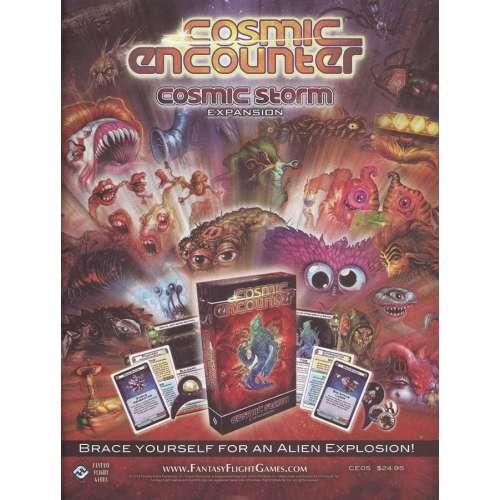 Cosmic Encounter: Cosmic Storm - разширение за настолна игра