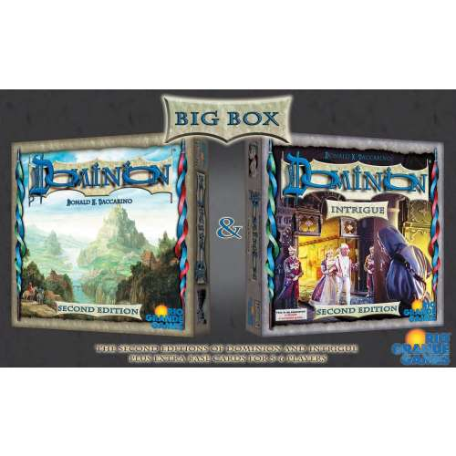 Dominion (Second Edition) Big Box - настолна игра