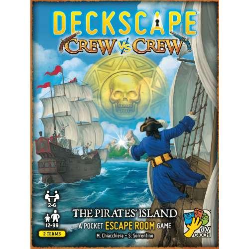 Deckscape Crew vs Crew: The Pirates' Island - настолна игра
