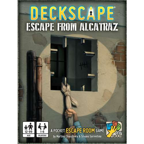 Deckscape: Escape from Alcatraz - настолна игра