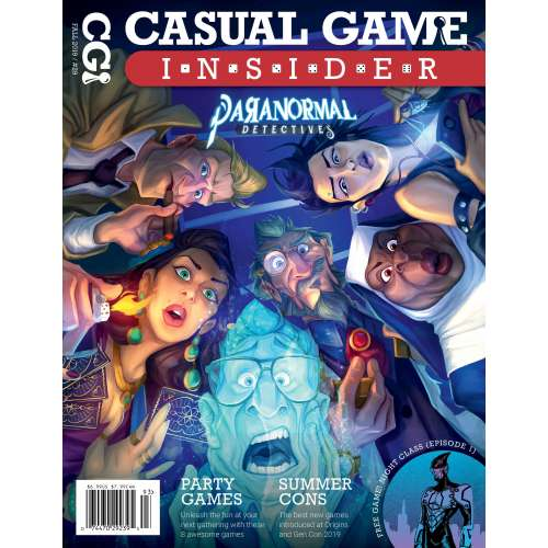 Casual Game Insider Magazine (Fall 2019 Issue) - списание за настолни игри