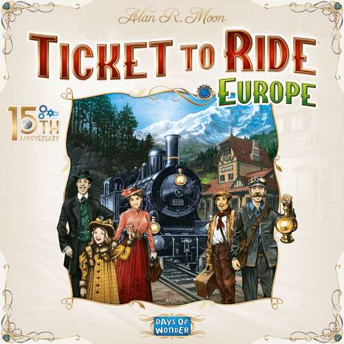 Ticket to Ride: Europe (15th Anniversary Edition) - настолна игра