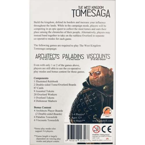 The West Kingdom Tomesaga - разширение за настолна игра