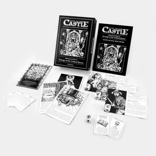 Escape the Dark Castle: Adventure Pack 2 – Scourge of the Undead Queen - разширение за настолна игра