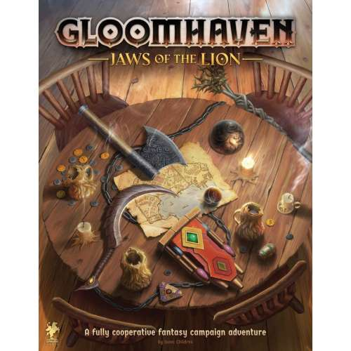 Gloomhaven: Jaws of the Lion - настолна игра