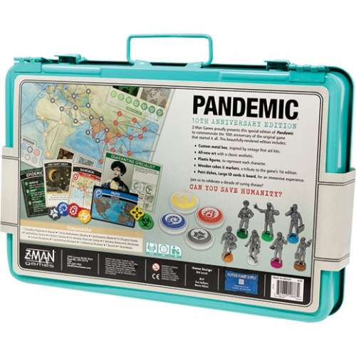 Pandemic 10th Anniversary Edition - настолна игра