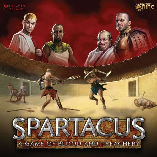 Spartacus: A Game of Blood and Treachery (Second Edition) - настолна игра