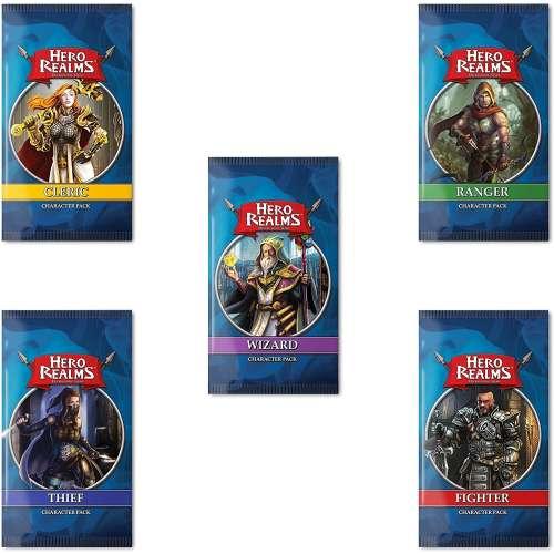 Hero Realms: Character Packs Bundle (Wizard, Cleric, Fighter, Ranger, Thief) - разширение за настолна игра