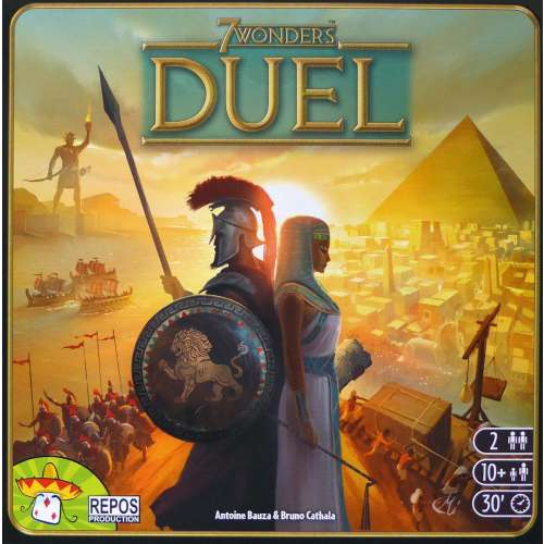 7 Wonders Дуел - настолна игра
