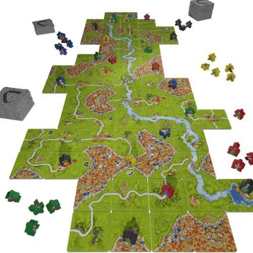 20 Години Каркасон - Юбилейно Издание (Carcassonne: 20th Anniversary Edition) - настолна игра