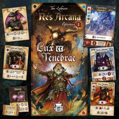 Res Arcana: Lux et Tenebrae - разширение за настолна игра