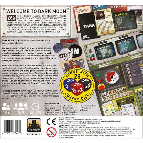 Dark Moon - настолна игра