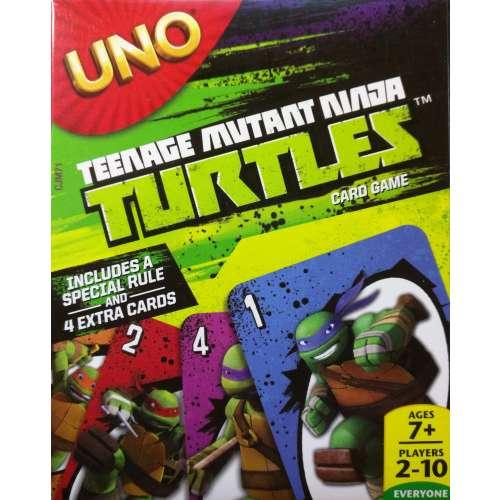 UNO: Teenage Mutant Ninja Turtles - настолна игра