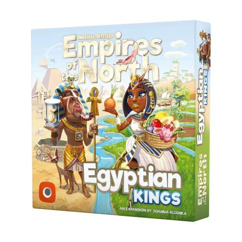 Imperial Settlers: Empires of the North – Egyptian Kings - разширение за настолна игра