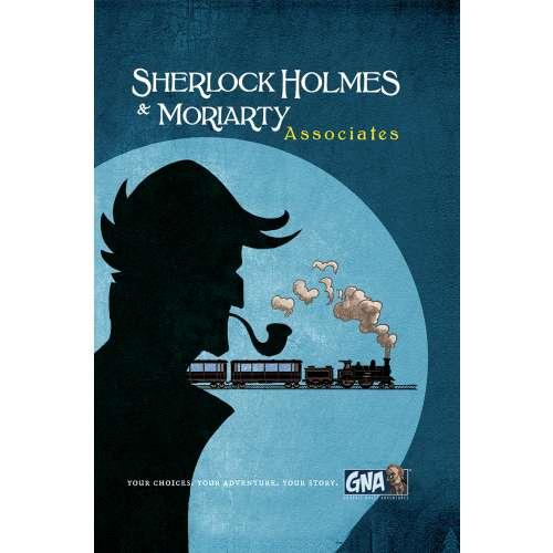 Sherlock Holmes & Moriarty: Associates - книга-игра