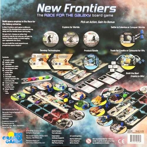 New Frontiers - настолна игра