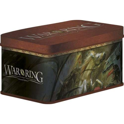 War of the Ring (Second Edition) Tin Box with Sleeves
