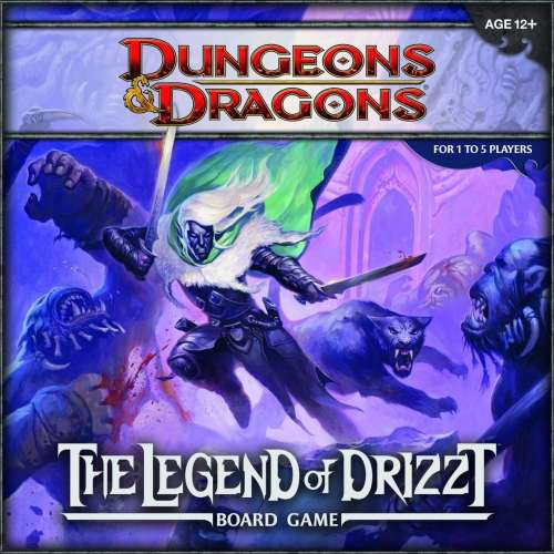 Dungeons & Dragons: The Legend of Drizzt Board Game - настолна игра