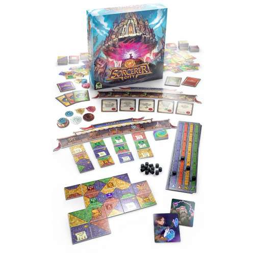 Sorcerer City - настолна игра