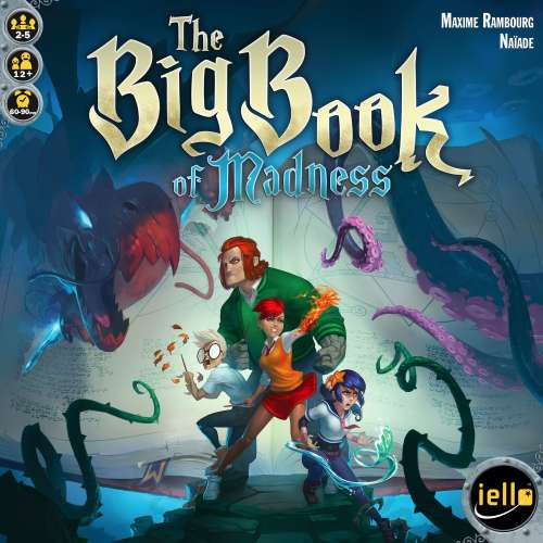 The Big Book of Madness - настолна игра