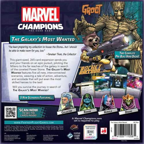 Marvel Champions: The Card Game – The Galaxy's Most Wanted - разширение за настолна игра