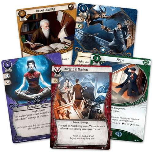 Arkham Horror: The Card Game – Edge of the Earth: Investigator Expansion - разширение за настолна игра