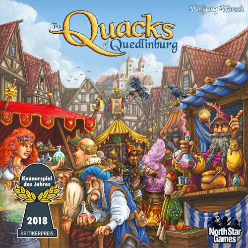 The Quacks of Quedlinburg - настолна игра