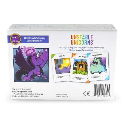 Unstable Unicorns (2nd Edition) - настолна игра