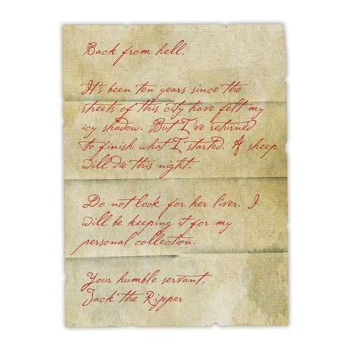 Sherlock Holmes: The Shadow of Jack the Ripper - книга-игра