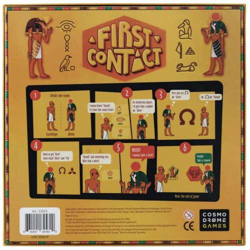 First Contact - настолна игра