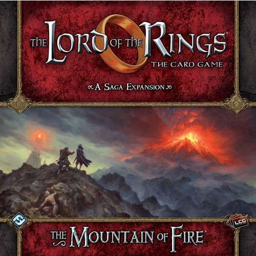 The Lord of the Rings: The Card Game – The Mountain of Fire - разширение за настолна игра