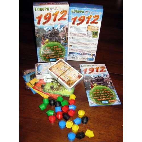 Ticket to Ride: Europa 1912 - разширение за настолна игра