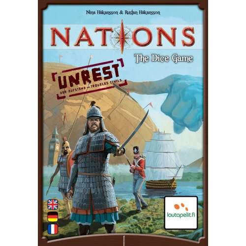 Nations: The Dice Game – Unrest - разширение за настолна игра