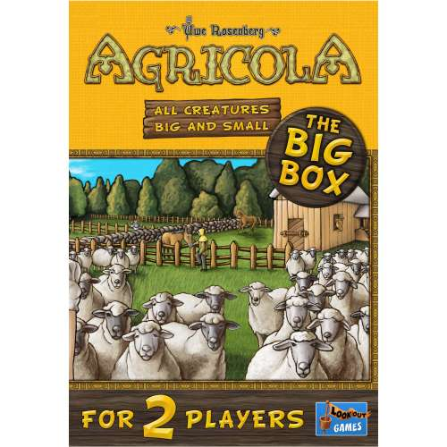 Agricola: All Creatures Big and Small – The Big Box - настолна игра