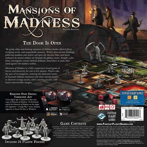 Mansions of Madness: Second Edition - настолна игра