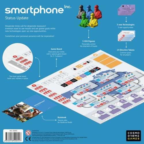 Smartphone Inc.: Status Update 1.1 - разширение за настолна игра