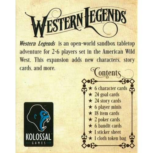 Western Legends: Fistful of Extras - разширение за настолна игра