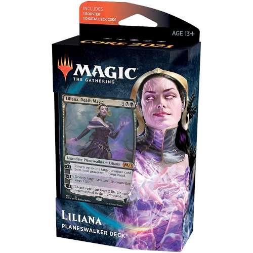 Magic: The Gathering - Liliana Death Mage Planeswalker Deck (Core Set 2021)