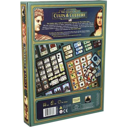 The Golden Ages: Cults & Culture - разширение за настолна игра