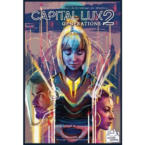 Capital Lux 2: Generations - настолна игра