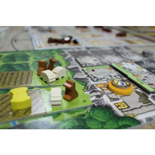 Caverna: The Cave Farmers - настолна игра
