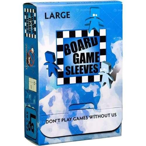 Arcane Tinmen Board Games Sleeves (Clear, Non-Glare) - 59 x 92 mm