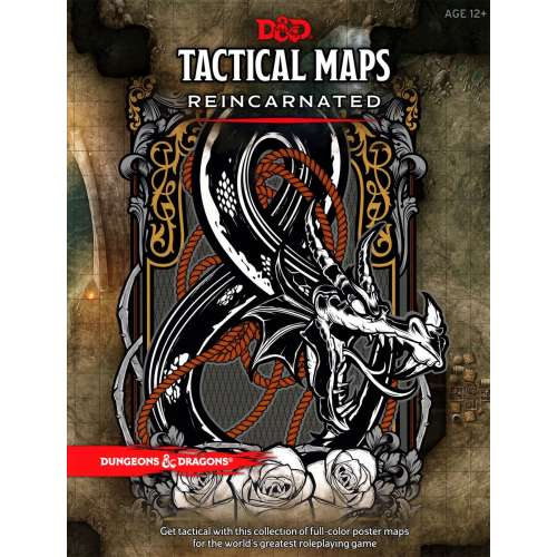 Dungeons & Dragons RPG: Tactical Maps Reincarnated
