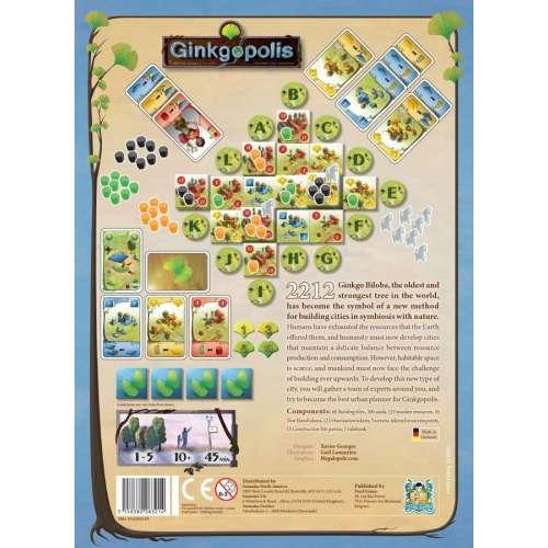 Ginkgopolis (Second Edition) - настолна игра