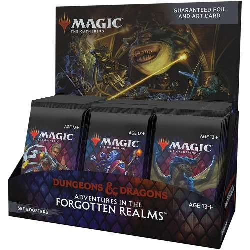 Magic: The Gathering - Adventures in the Forgotten Realms Set Booster Box