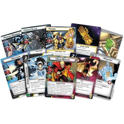 Marvel Champions: The Card Game – The Mad Titan's Shadow - разширение за настолна игра