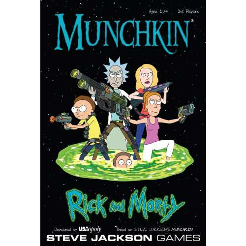 Munchkin Rick and Morty - настолна игра