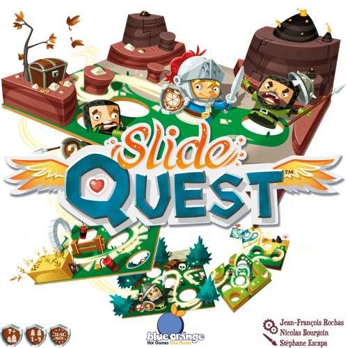 Slide Quest - настолна игра