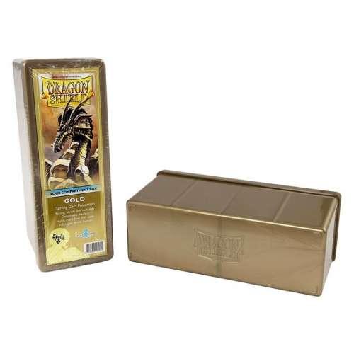 Dragon Shield 4-Compartment Storage Box - Gold